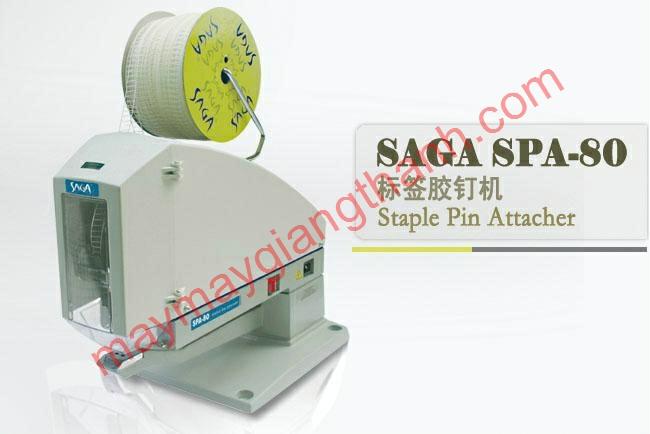Máy bắn đạn nhựa vòng Staple Pin Attacher SAGA