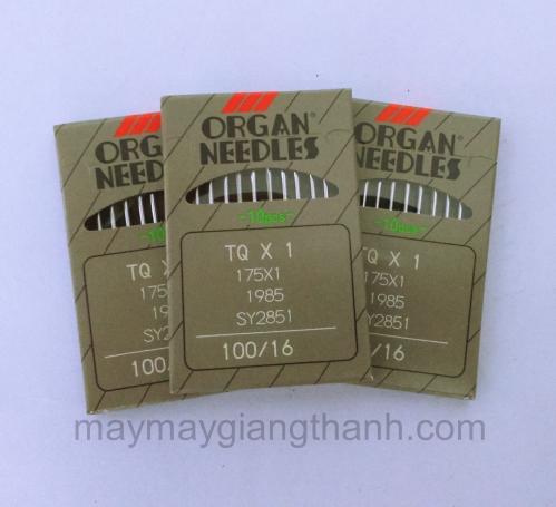 Kim máy đính cúc Nhật Organ TQx1