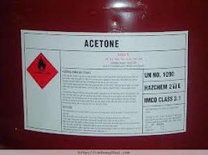 Chất tẩy Acetone ngành may