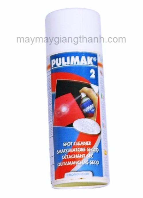 Chất tẩy dầu mỡ bám trên vải Pulimak 2
