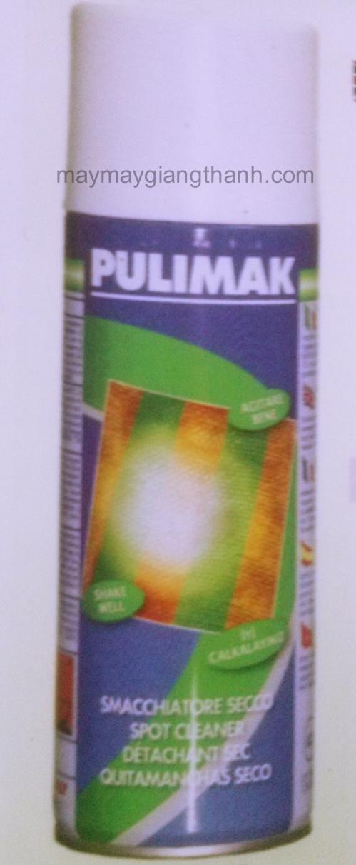 Chất tẩy dầu mỡ bám trên vải Pulimak
