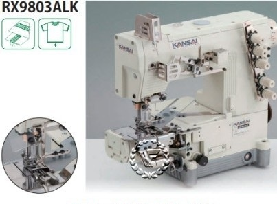 Máy viền xén trái Kansai RX-9803ALK