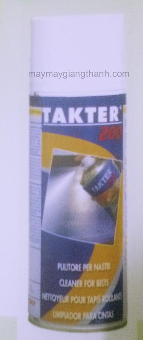 Keo xịt chuyên dụng trong ngành may thêu Takter 200