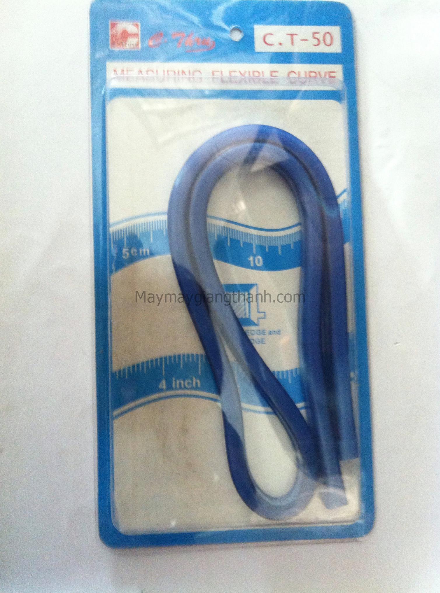 Thước nhựa mềm 50cm