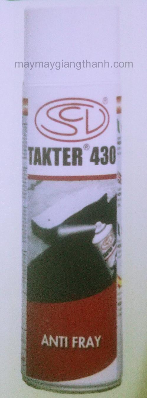 Dung dịch chốn tưa méo vải Takter 430