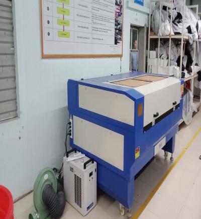 thu mua máy cắt vải laser ngành may cũ