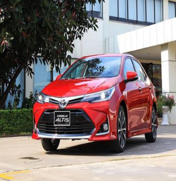 Giới thiệu sơ lược dòng xe Toyota Corolla Altis mới nhất hiện nay